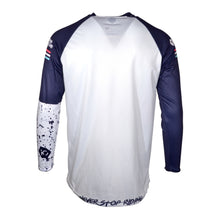 365MX Speck Race Jersey - White