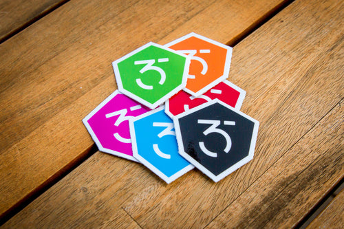 365MX Logo Sticker - 6 Pack
