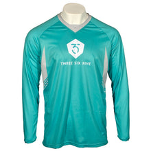 365MX Whiteout Race Jersey - Teal