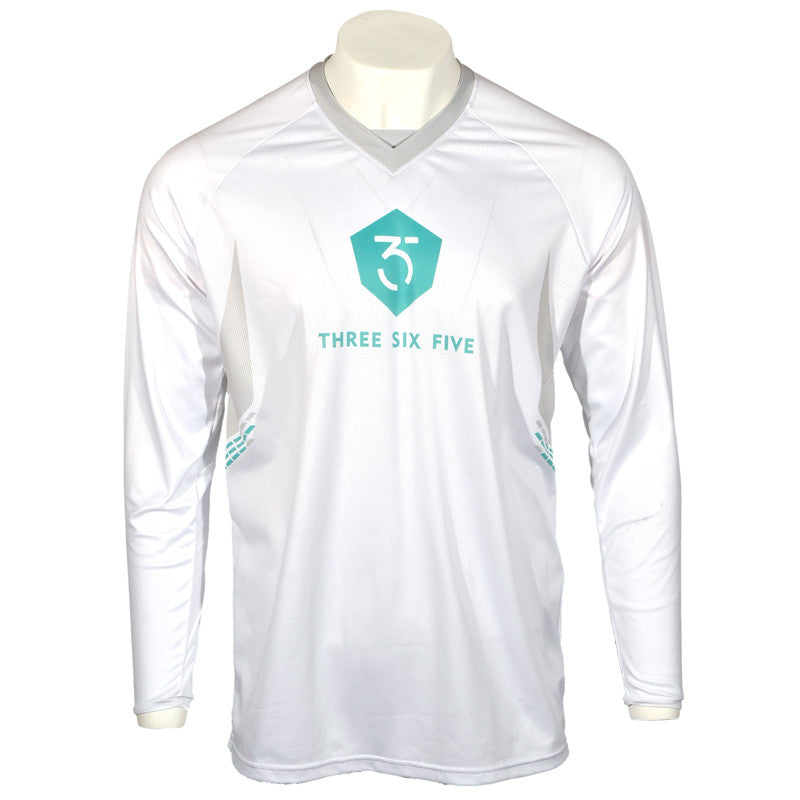 365MX Whiteout Race Jersey - White