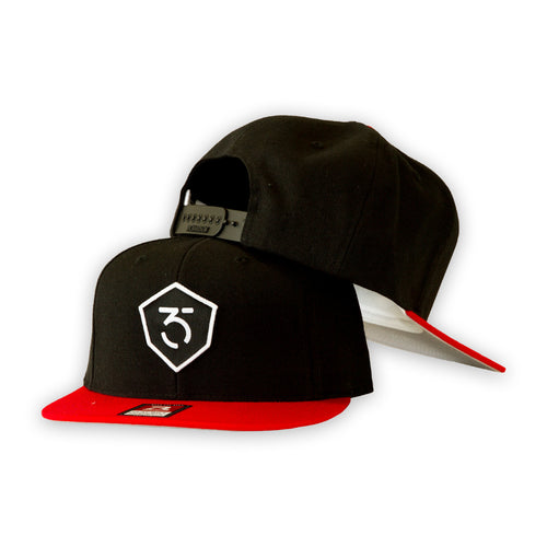 365MX Snapback - Black/Red