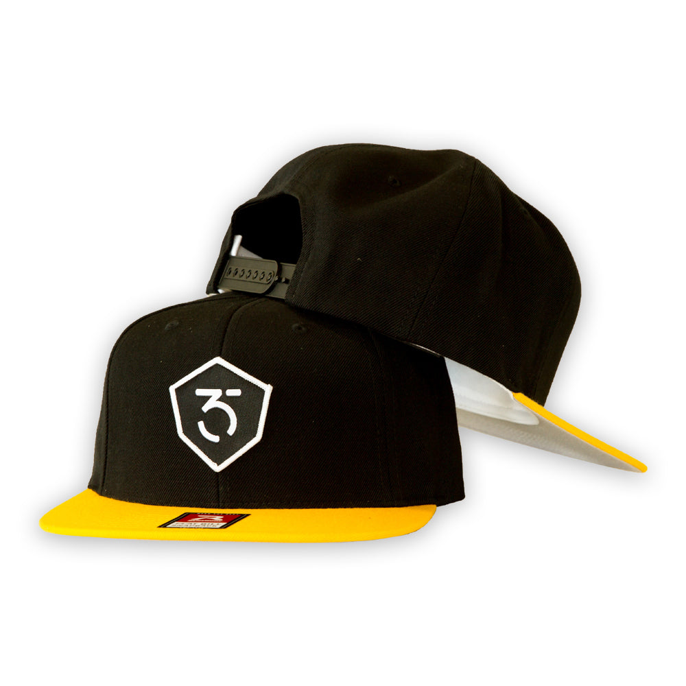 365MX Snapback - Black/Yellow