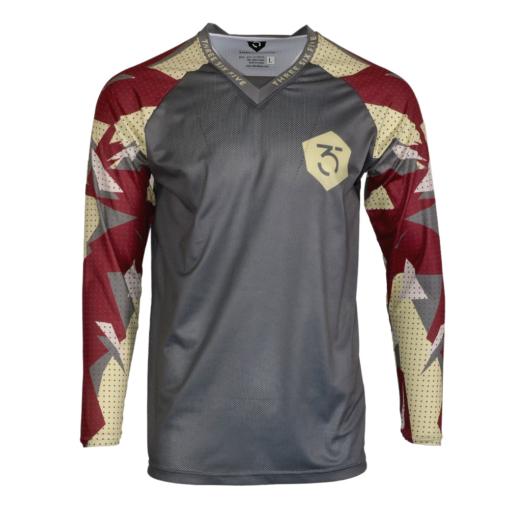 365MX Fragment Race Jersey - Grey