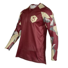 365MX Fragment Race Jersey - Maroon