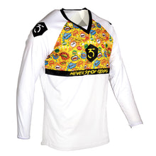 365MX Burst Race Jersey – White