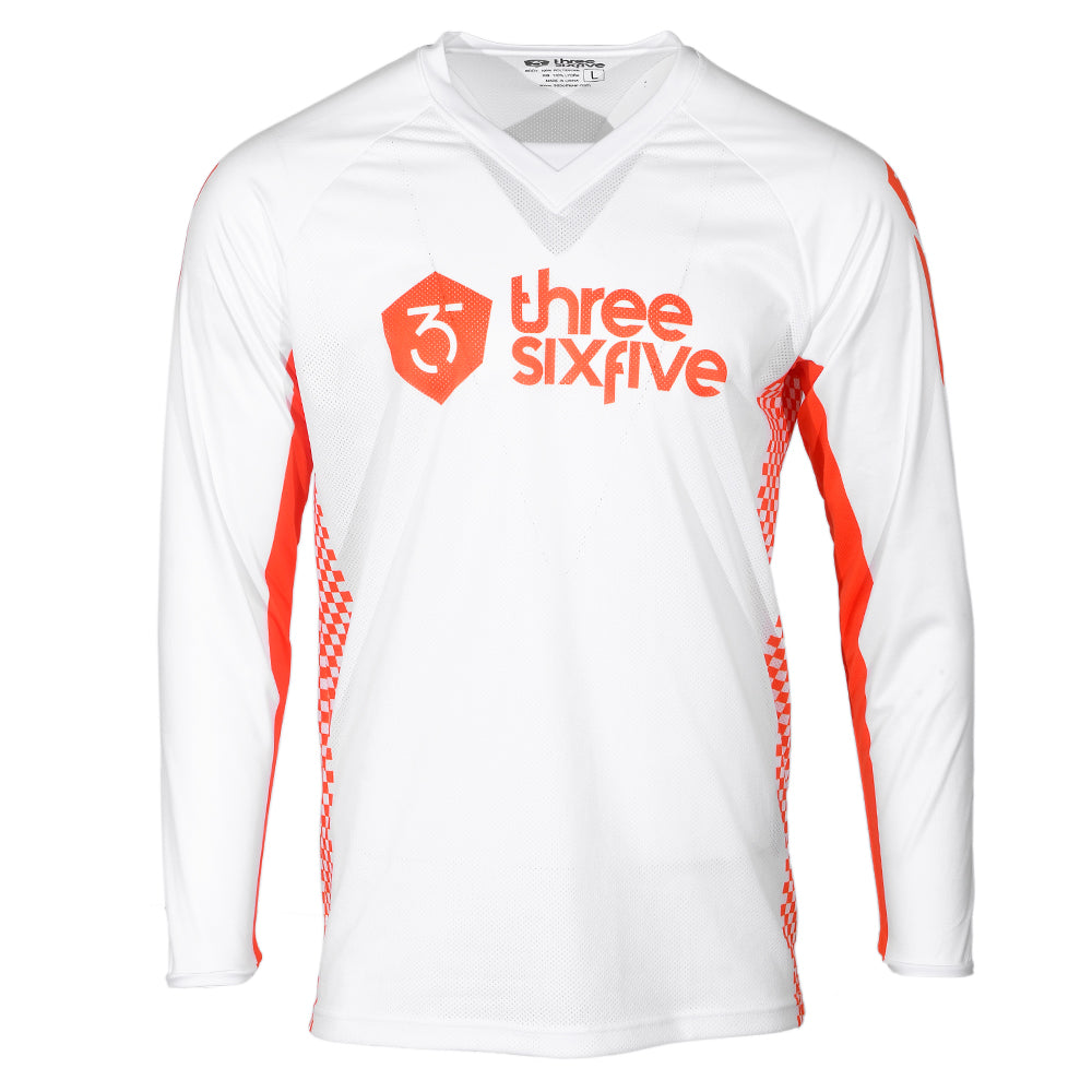 365MX Echo Race Jersey – White