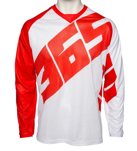365MX Launch Race Jersey - White