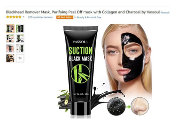 Amazon #1 in Beauty and Personal Care