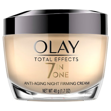 Olay Total Effects Anti-Aging Night Firming Cream & Face Moisturizer 1.7 Fluid Ounce
