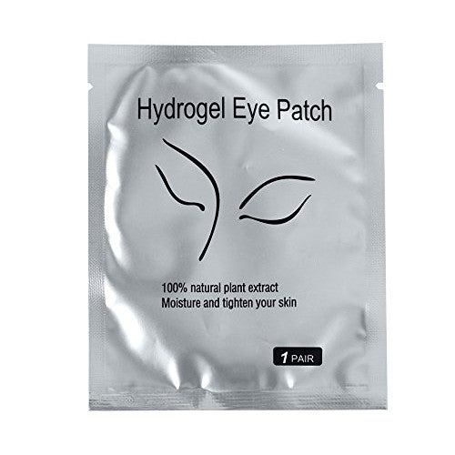 100 Pairs Set,Under Eye Pads, Lint Free Lash Extension Eye Gel Patches for Eyelash Extension Eye Mask Beauty Tool