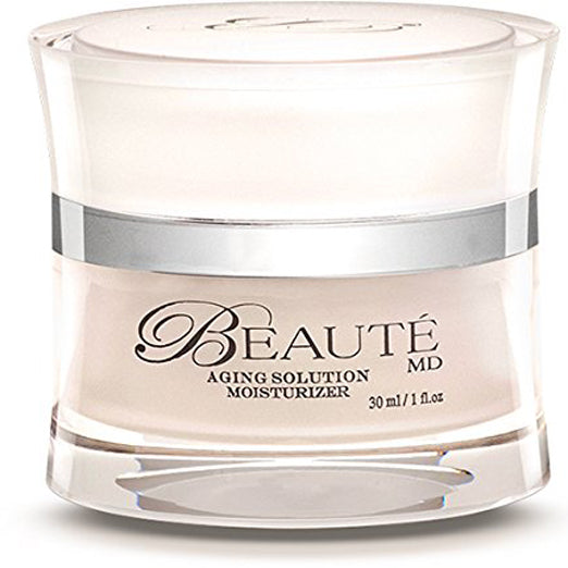 Beaute MD Moisturizer - ALL Natural Anti Aging Formula Made With Organic Ingredients, Ginkgo Biloba & Fruit Stem Cells by TOP US Dr. & Lab - 1 OZ