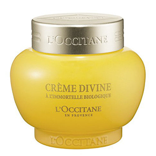 L'Occitane Anti-Aging Divine Cream for a Youthful and Radiant Glow, 1.7 oz.