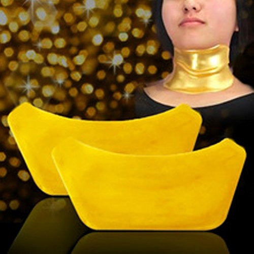 Gold Collagen Moisturizing Neck Lift Masks (4 Pack Set)