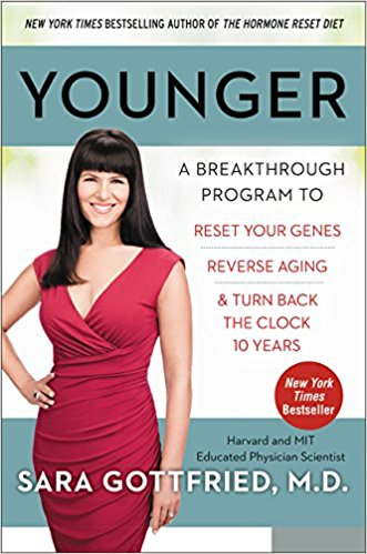 Younger: A Breakthrough Program to Reset Your Genes, Reverse Aging, and Turn Back the Clock 10 Years Hardcover – by Sara Gottfried  (Author)