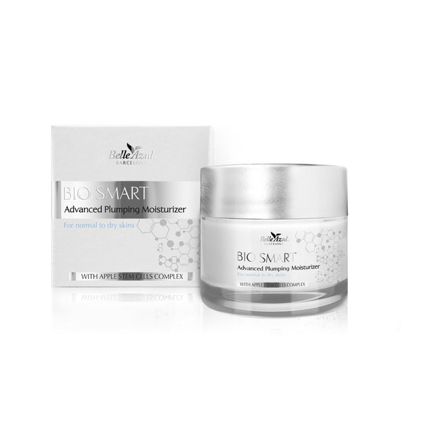 Belle Azul Bio Smart Plumping Moisturizer - Deeply Hydrating Intense Moisture Cream