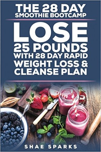 The 28 Day Smoothie Bootcamp: Lose 25 Pounds with 28 Day Rapid Weight Loss & Cleanse Plan