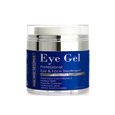 Pure Body Naturals Eye Cream for Dark Circles, Puffiness, Wrinkles, and Bags - 1.7 fl oz