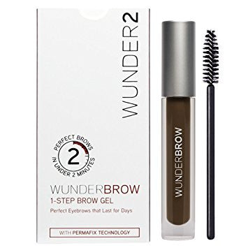 Wunder2 Wunderbrow Eyebrow Gel Perfect Eyebrows in 2 Mins - Black/Brown