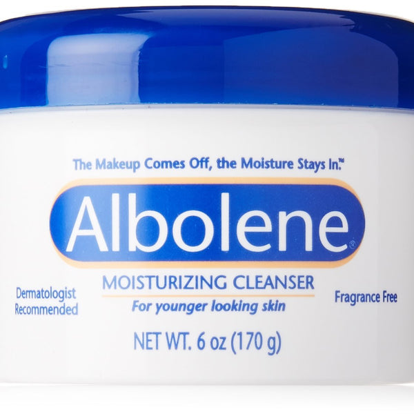 Albolene Moisturizing Cleanser 6 Oz