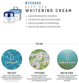 Myconos Night Cream Korean Whitening Anti Wrinkle Anti Aging Blemish Reducing Premium Skincare Formula