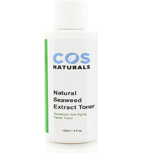 COS Naturals Seaweed Extract Facial Toner Organic Anti-Aging Skin Care For Face, 4 oz