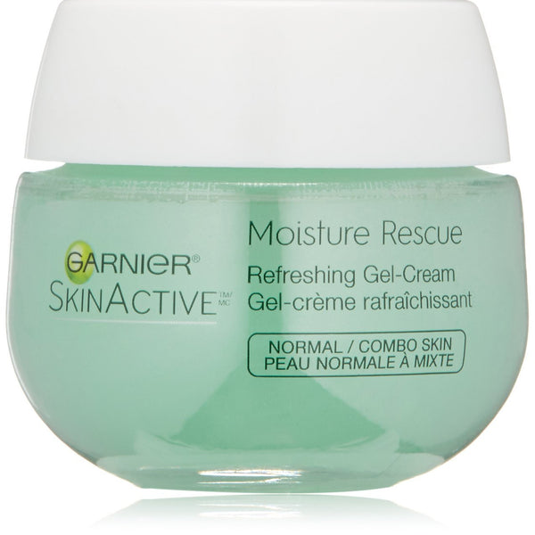 Garnier Moisture Rescue Refreshing Gel-Cream for Normal and Combination Skin.