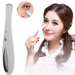 Anti-Ageing Wrinkle Device, FLYMEI 40℃ Heated Eye Massager Pen with High Frequency Vibration, Eliminates Wrinkles Wand, Relieves Dark Circles and Puffiness