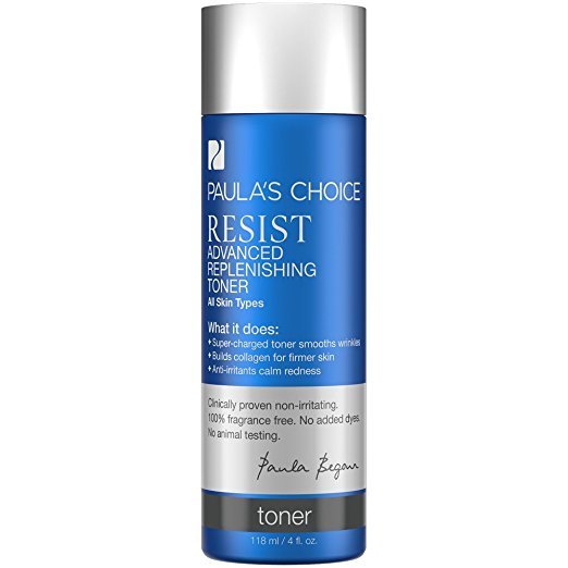 Paula's Choice RESIST Advanced Replenishing Anti-Aging Toner with Vitamin C, Vitamin E and Antioxidants - 4 oz