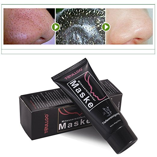 Charcoal Mask, Black Mask, Peel Off Mask, Suction Black Mask Nose Strip For Face Nose Acne Treatment, Charcoal peel off mask, Remove Blackheads/Skin Oil/Dead Skin/Acne Skin and Nose Care