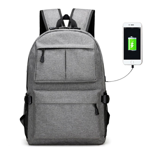 Viyear College Laptop Backpack Travel Dypack Usb Port Fit 15.6 Inch Water Resistant