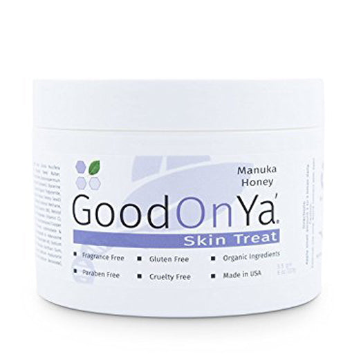 Manuka Honey Cream - The Original UMF Certified Moisturizer by GoodOnYa Skin Care Products - 100,000 Happy Customers (8 oz)