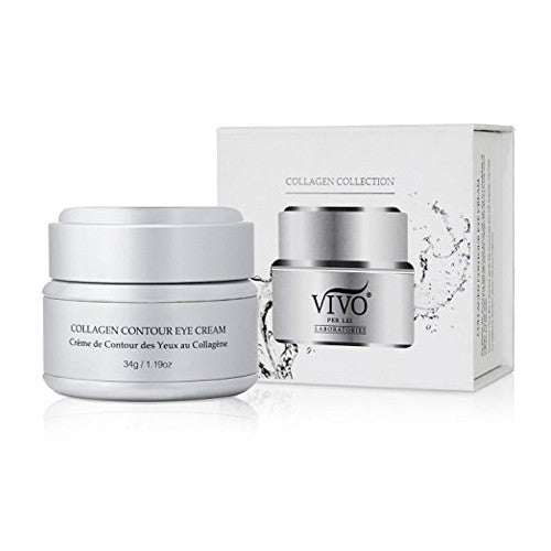 Vivo Per Lei Collagen Contour Eye Firming Cream for Wrinkles, Dark Circles and Puffiness, 34 g/ 1.19 oz.