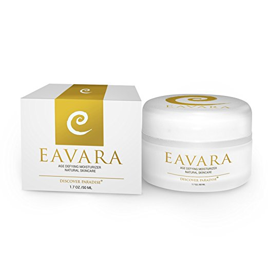 Anti Wrinkle, Anti Aging Daily Moisturizer Cream For Women And Men | Natural Organic Wrinkle Firming Skin Care | Hyaluronic Acid | Organic Kukui Oil and Shea Butter | No Parabens or Sulfates