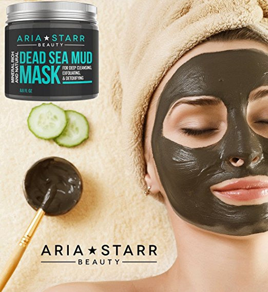 Aria Starr Beauty Natural Dead Sea Mud Mask