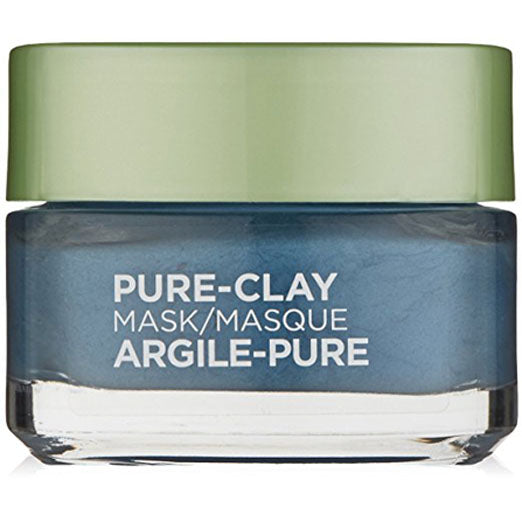 L'Oreal Paris Skin Care Pure Clay Clear & Comfort Mask,, 1.7 Ounce