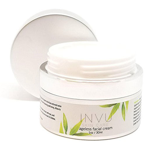 INVU Beauty Ageless Facial Moisturizing Cream Anti Aging Serum, with 100% Natural Retinol