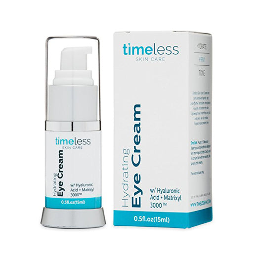Hydrating Hyaluronic Acid + Matrixyl + Algae Eye Cream 0.5 oz. by Timeless Skin Care
