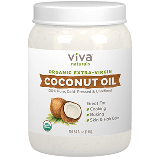 Viva Naturals Organic Extra Virgin Coconut Oil, 54 Ounce