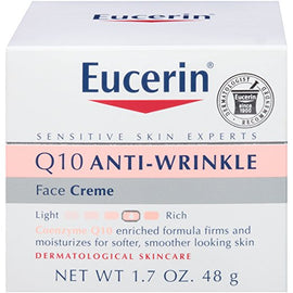 Eucerin Sensitive Skin Experts Q10 Anti-Wrinkle Face Creme 1.7 Ounce
