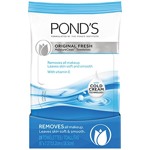 Pond's Moisture Clean Towelettes, Original Fresh 28 Count