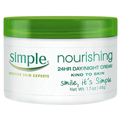 Simple Kind to Skin Cream, Nourishing 24 Hr Day and Night 1.7 oz