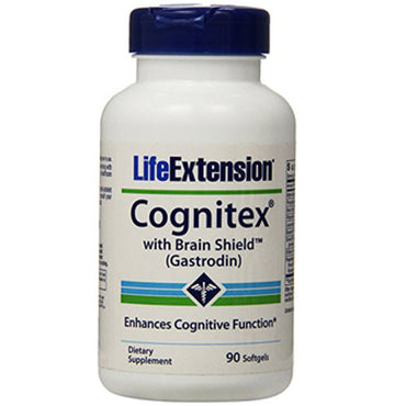 Life Extension Cognitex with Brain Shield Softgels, 90 Count