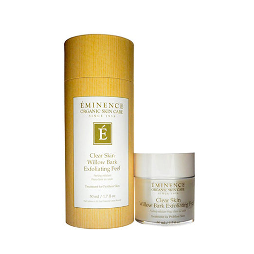 Eminence Clear Skin Willow Bark Exfoliating Peel, 1.7 Ounce