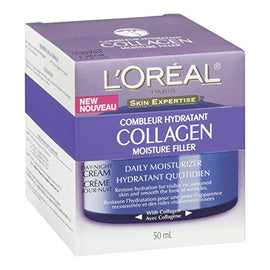 L'Oréal Paris Collagen Moisture Filler Night Creme, 1.7 oz.