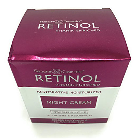 Skincare LdeL Cosmetics Retinol Vitamin Enriched Night Cream 1.7 ounces