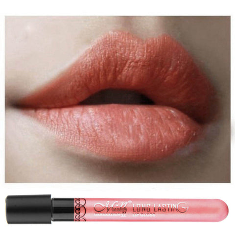 Waterproof Elegant Daily Color Lipstick matte smooth lip stick lipgloss Long Lasting Sweet girl Lip beauty Makeup