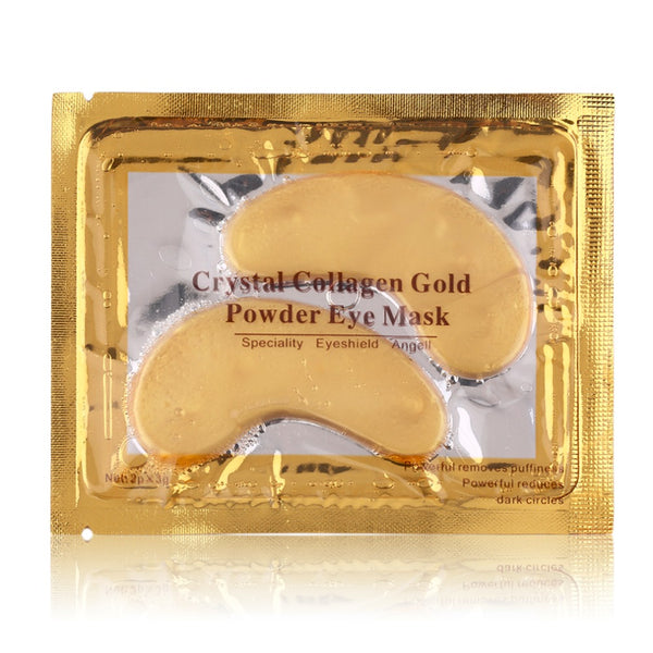 Professional 24K Gold Facial Care Mask Personal Use Anti-Aging Dark Circle Removal Water Replenishment Eye Masks