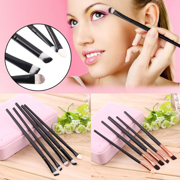 Beauty 5PCS Makeup Brushes Set Kit Powder Foundation Eyeshadow Eyeliner Smudge Brush Cosmetics Tool 2015 New Quality Hot