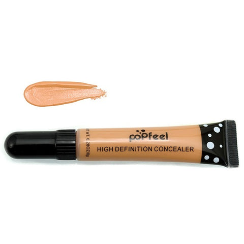 Hide Blemish Face Eye Lip Creamy Concealer POPFEEL Women Fashion Makeup Face Beauty Liquid Concealer Blemish Cream