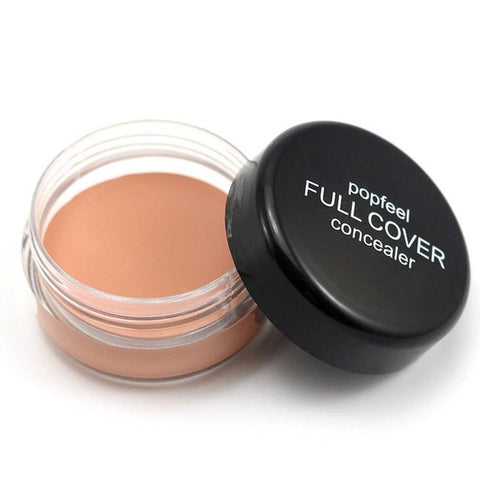 Popfeel Natural Brightening Concealer Single Color Full Cover Make Up Cosmetics Foundation Base Face Beauty Care Concealer